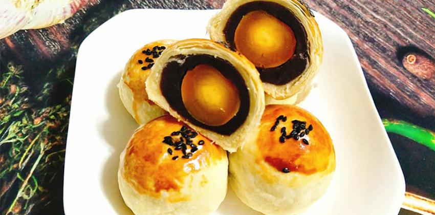 cách làm bánh trung thu đài loan 66 cách làm bánh trung thu Cách làm bánh Trung thu Đài Loan nhân đậu đỏ trứng muối cach lam banh trung thu dai loan 66