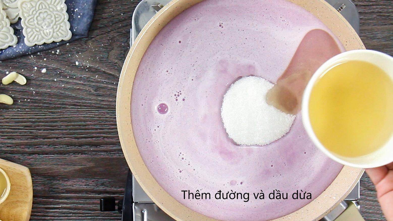 cách làm nhân khoai môn 77 cách làm nhân khoai môn Cách làm nhân khoai môn đậu trắng ngọt thơm cho Trung thu 2018 cach lam nhan khoai mon 77