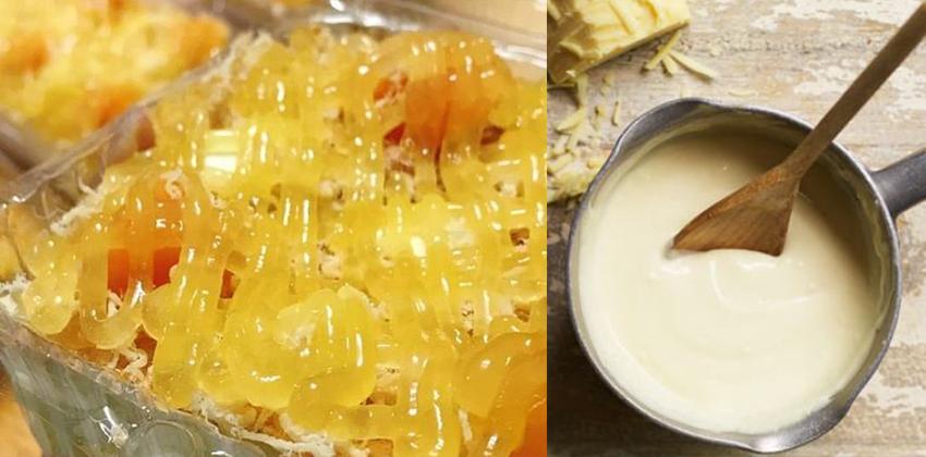 cách làm sốt 66 cách làm sốt Cách làm sốt bánh bông lan trứng muối cực đơn giản cach lam sot 66