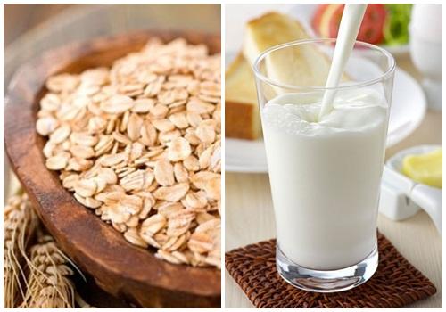 cách làm sữa yến mạch 9 cách làm sữa yến mạch Cách làm sữa yến mạch khỏe da đẹp dáng tại nhà cach lam sua yen mach 9