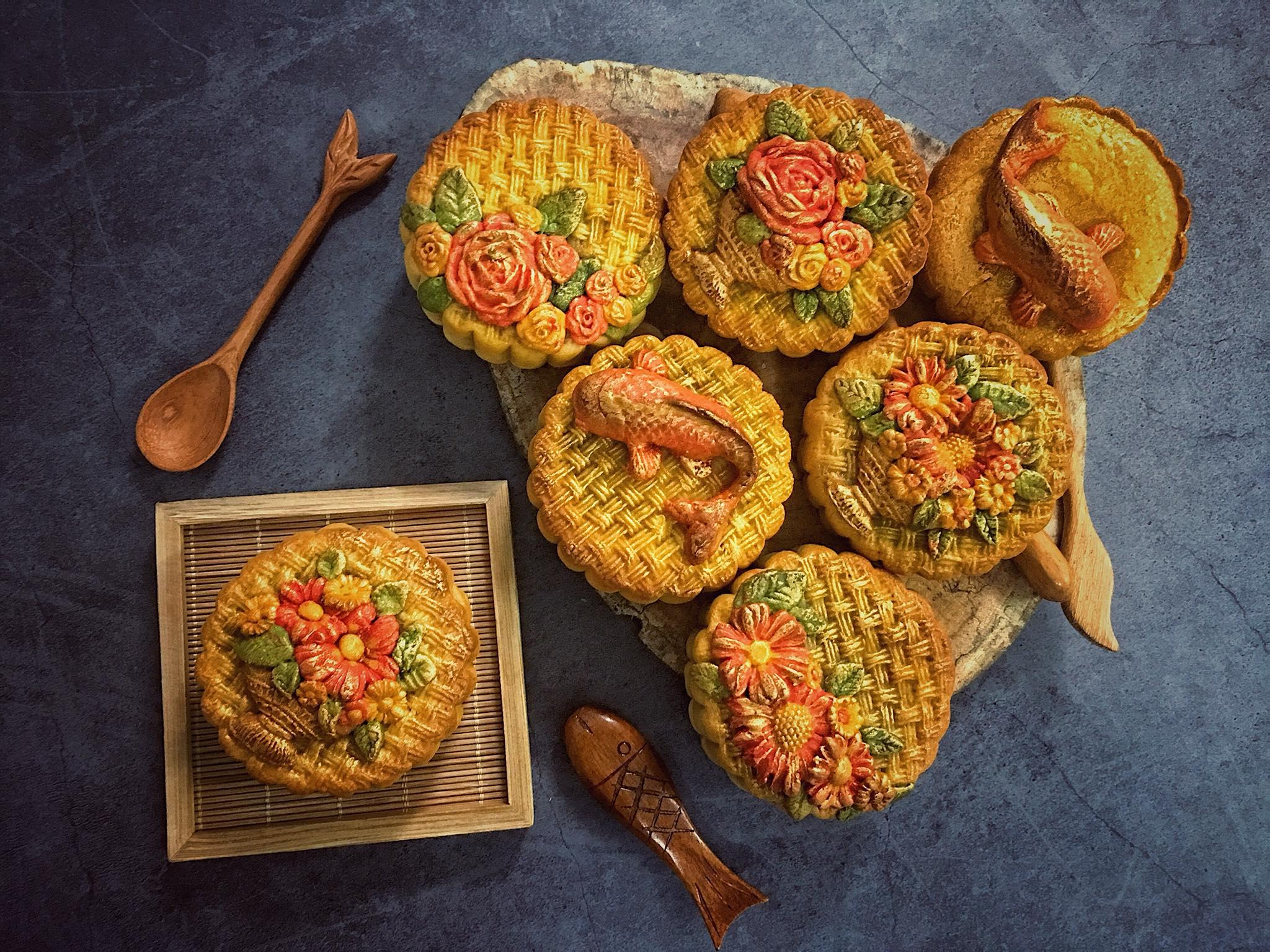 những chiếc bánh trung thu 7 những chiếc bánh trung thu Những chiếc bánh Trung thu đẹp nức nở mà chẳng nỡ ăn nhung chiec banh trung thu 7