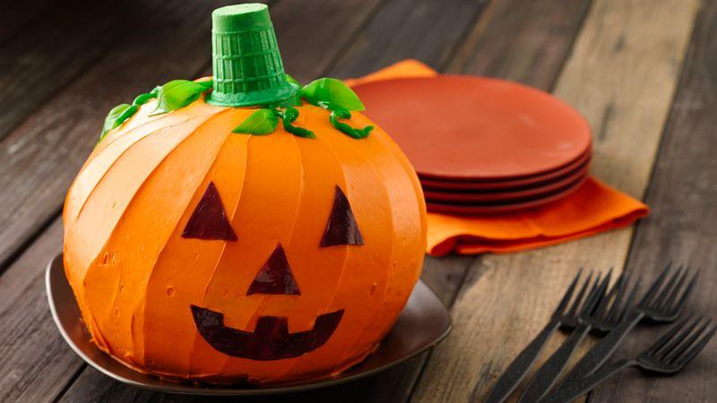 cách tạo hình bánh bí ngô halloween Cách tạo hình bánh bí ngô Halloween ngộ nghĩnh ai ai cũng làm được 14