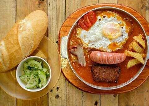 bánh mì nha trang 1 bánh mì nha trang Bánh mì Nha Trang giòn rụm ăn ngon hết nấc banh mi nha trang 1