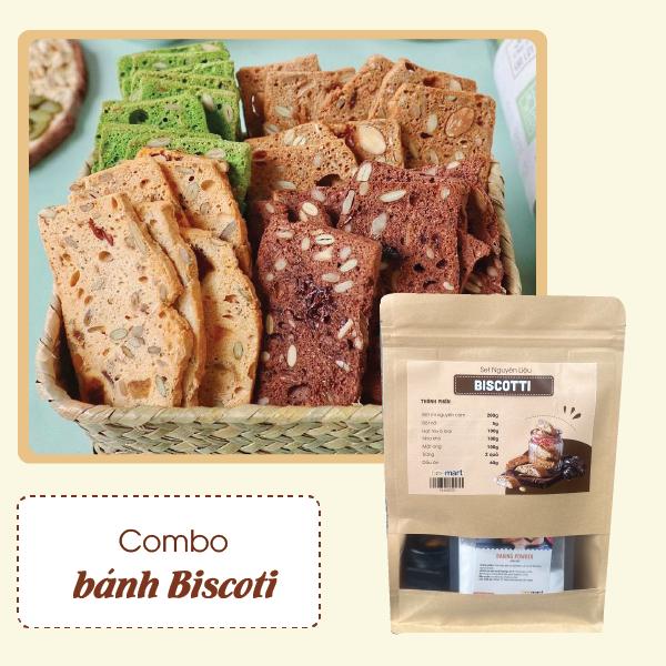 cách làm biscotti Cách làm Biscotti nguyên cám siêu ngon, siêu đơn giản biscotti