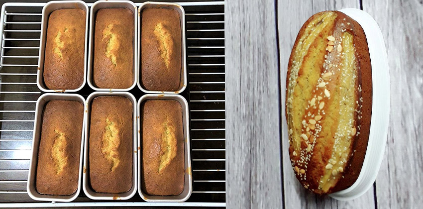 cách làm bánh bông lan chuối 66 cách làm bánh chiffon lá dứa Cách làm bánh Chiffon lá dứa xanh mướt mát cach lam banh bong lan chuoi 66