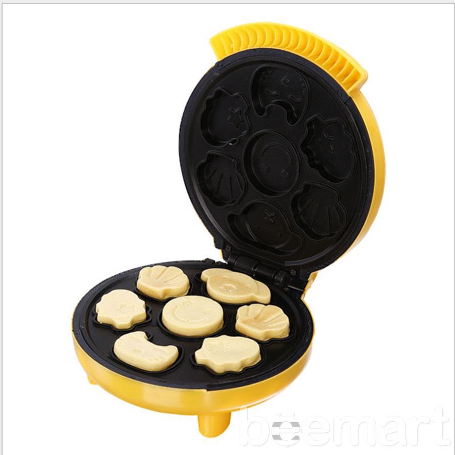 cách làm bánh bông lan hình thú 1 cách làm bánh bông lan Cách làm bánh bông lan hình thú ngộ nghĩnh bằng máy nướng cực đơn giản cach lam banh bong lan hinh thu 1