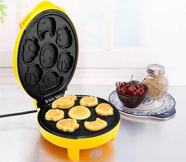 cách làm bánh bông lan hình thú 2 cách làm bánh bông lan Cách làm bánh bông lan hình thú ngộ nghĩnh bằng máy nướng cực đơn giản cach lam banh bong lan hinh thu 2