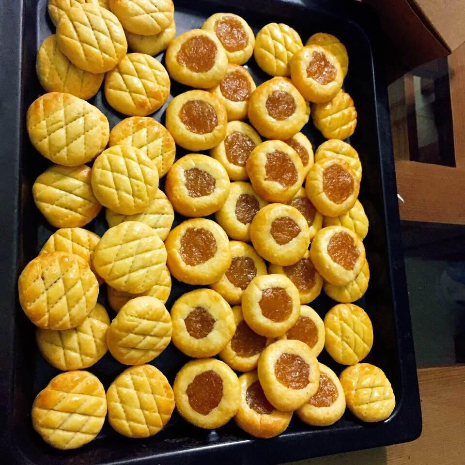 cách làm bánh dứa 2 cách làm bánh dứa Cách làm bánh dứa nặn tay chào Thu cach lam banh dua 2