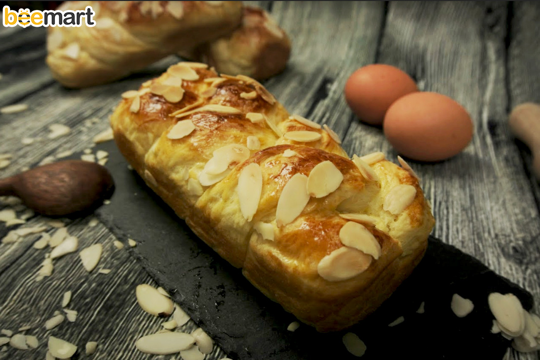 cách làm bánh mì hoa cúc 8 cách làm bánh mì hoa cúc Cách làm bánh mì hoa cúc rảnh tay, nhàn tênh nhờ máy trộn bột cach lam banh mi hoa cuc 8