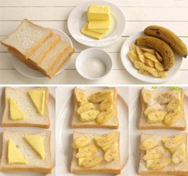 cách làm bánh mì sandwich 6 cách làm bánh mì sandwich Cách làm bánh mì sandwich bằng máy nướng siêu đơn giản cach lam banh mi sandwich 6