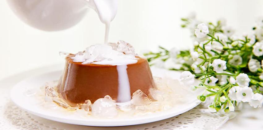 Cách làm Chocolate Flan 17 cách làm chocolate flan Cách làm Chocolate Flan mềm mịn ngon đốn tim cach lam chocolate flan 17