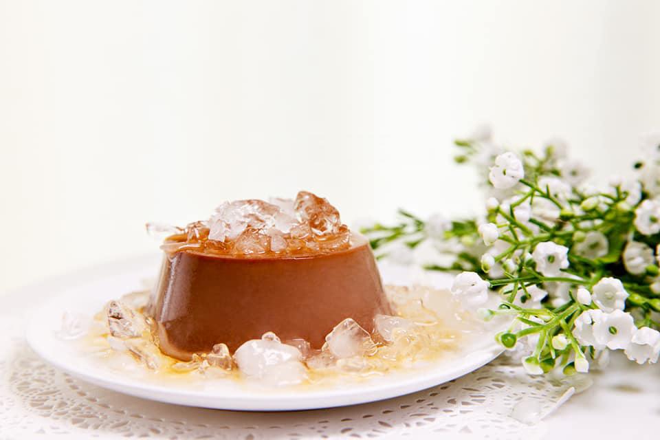 cách làm chocolate flan 7 cách làm chocolate flan Cách làm Chocolate Flan mềm mịn ngon đốn tim cach lam chocolate flan 7