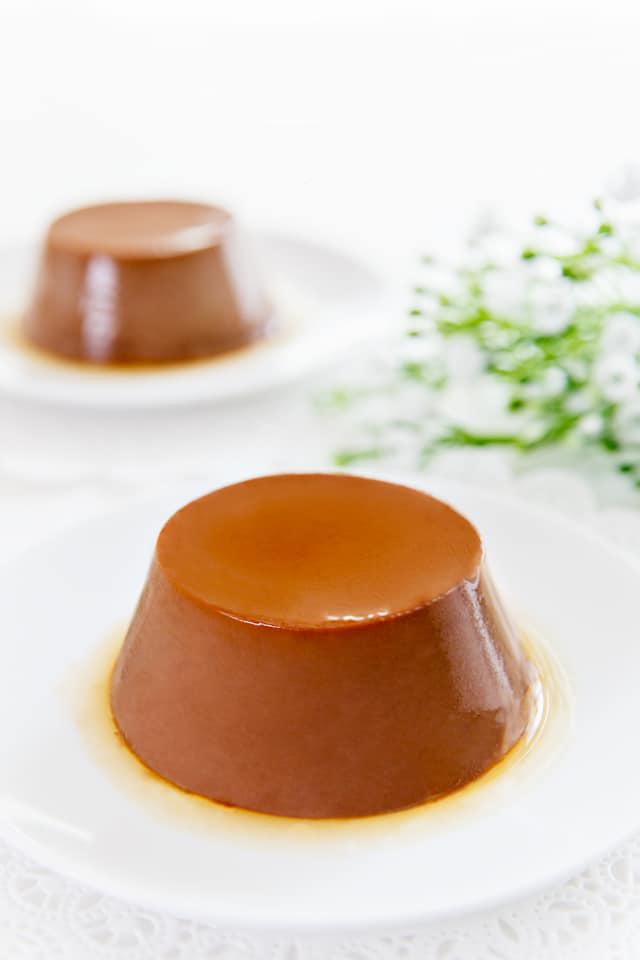 cách làm chocolate flan 9 cách làm chocolate flan Cách làm Chocolate Flan mềm mịn ngon đốn tim cach lam chocolate flan 9