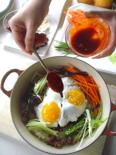 cách làm cơm hàn quốc cách làm cơm Cách làm cơm Hàn Quốc chuẩn vị xứ Kim Chi cach lam com han quoc 60