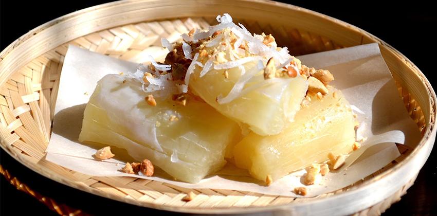 cách làm sắn nấu cốt dừa 6 cách làm sắn nấu cốt dừa Cách làm sắn nấu cốt dừa ngon say sưa chỉ với vài bước đơn giản cach lam san nau cot dua 6