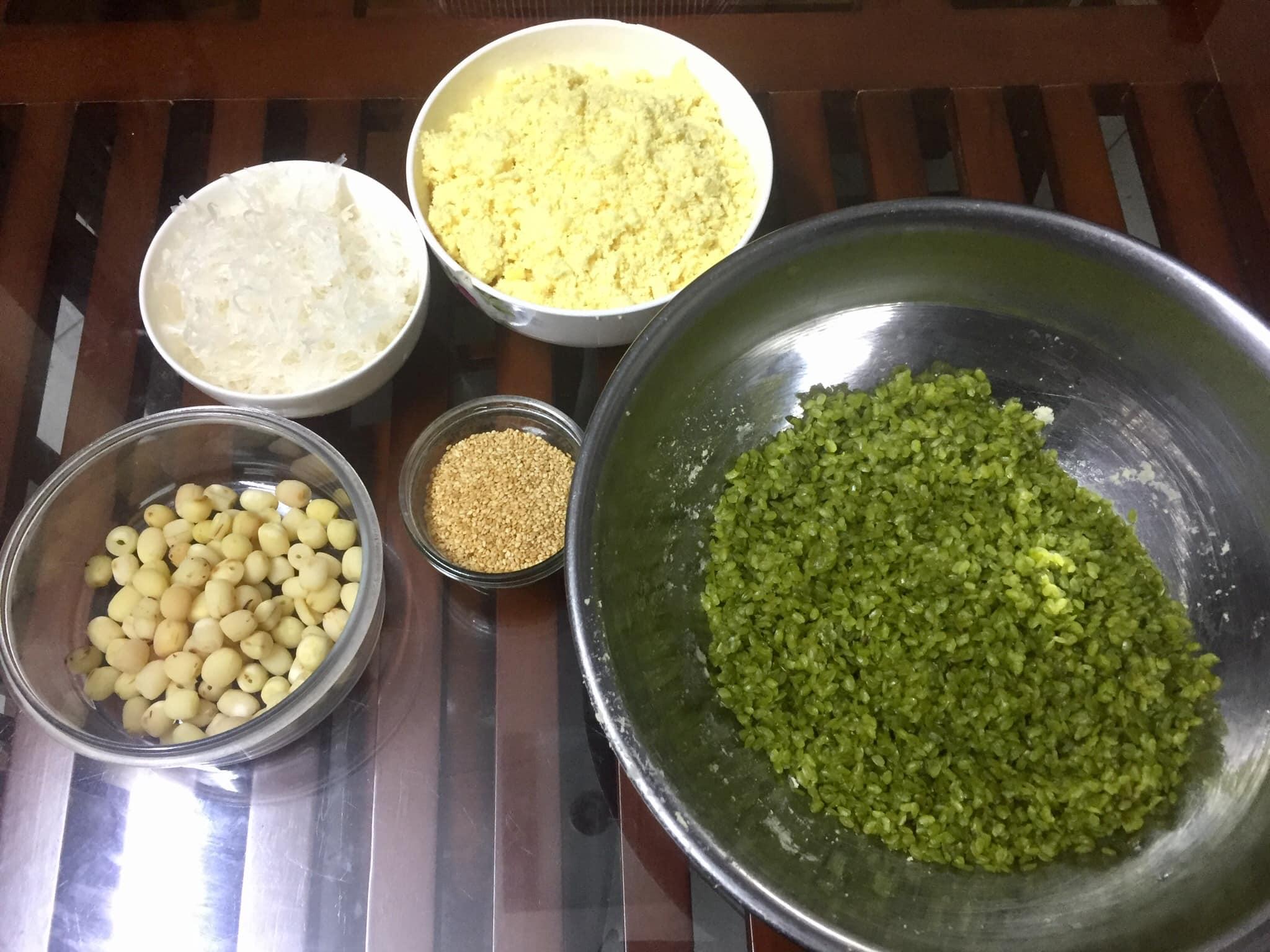 cách làm xôi cốm 5 cách làm xôi cốm Cách làm xôi cốm thơm dẻo hương vị quê hương cach lam xoi com 5