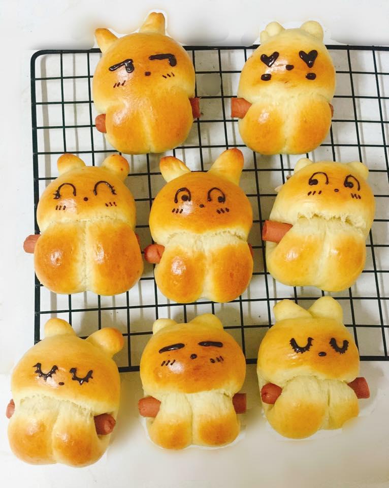 công thức bánh gấu thỏ 8 công thức bánh gấu thỏ Công thức bánh gấu thỏ dễ thương nhân custard nhìn muốn cưng luôn cong thuc banh gau tho 1