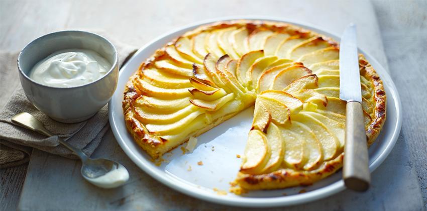 công thức bánh tart táo Công thức bánh tart táo truyền thống cho người mới làm bánh cong thuc banh tart tao 66