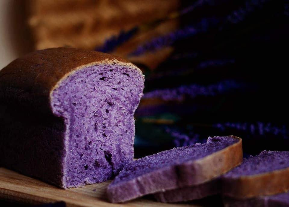 Bánh mì khoai tím 5 bánh mì khoai tím Bánh mì khoai tím mềm ẩm béo ngậy, ăn ngon không kiểm soát được banh mi khoai tim 5 copy