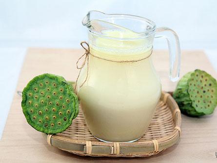 công thức làm sữa hạt máy xay đa năng Tổng hợp công thức làm sữa hạt bằng máy xay đa năng vô cùng tiện lợi sua hat sen