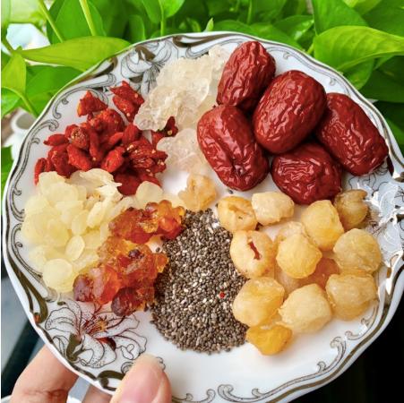 Nguyên liệu chè dưỡng nhan chè dưỡng nhan Mua nguyên liệu chè dưỡng nhan giá rẻ tại Hà Nội ở đâu??? 58707961 1142376209300448 5628832852209565696 n 1
