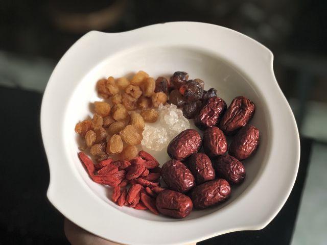 chè dưỡng nhan Cách nấu chè dưỡng nhan với 3 bước đơn giản, siêu tiết kiệm tại nhà chetuyetyennhuandao 9 1553227473632