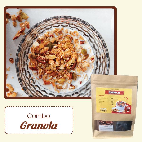 granola Granola có tốt không? Nên ăn Granola như thế nào? grnola 1