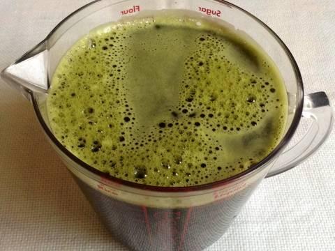 rau má đậu xanh macchiato Cách pha chế rau má đậu xanh macchiato sang chảnh độc đáo rauma macchiato