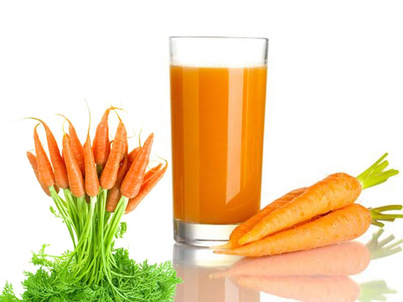 cách làm nước ép cà rốt Cách làm nước ép cà rốt thơm ngon bổ sung vitamin cach lam sinh to ca rot phunutoday vn