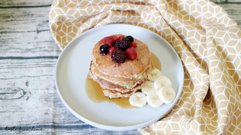 Yến mạch giảm cân pancake