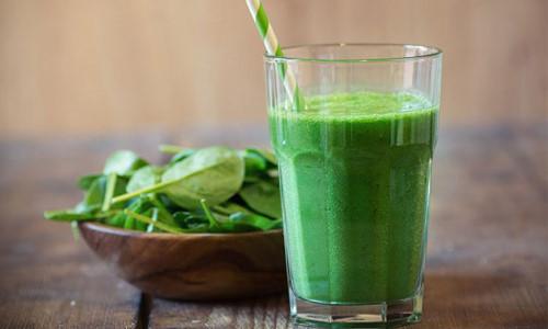 sinh tố rau cải bó xôi - sinh tố rau spinach