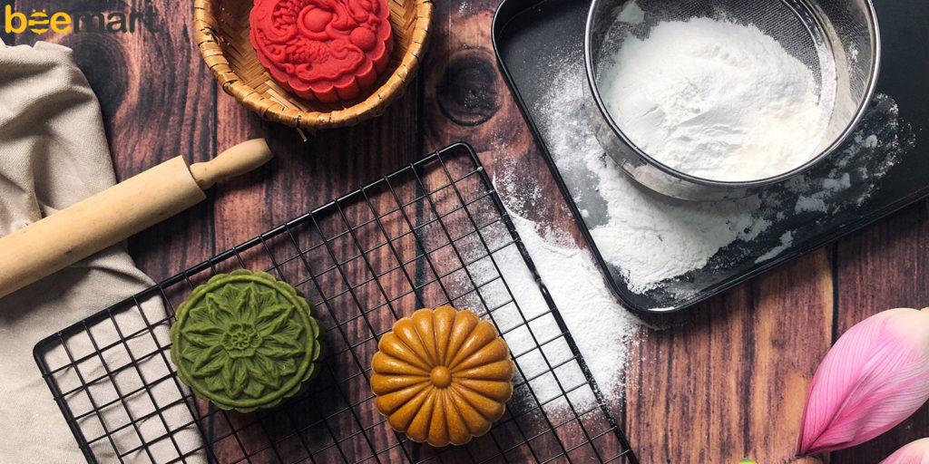 nguyên liệu làm bánh trung thu bằng bột mì làm bánh trung thu bằng bột mì Làm bánh trung thu bằng bột mì chuẩn hương vị Hà Thành lam banh trung thu bang bot mi 1024x512