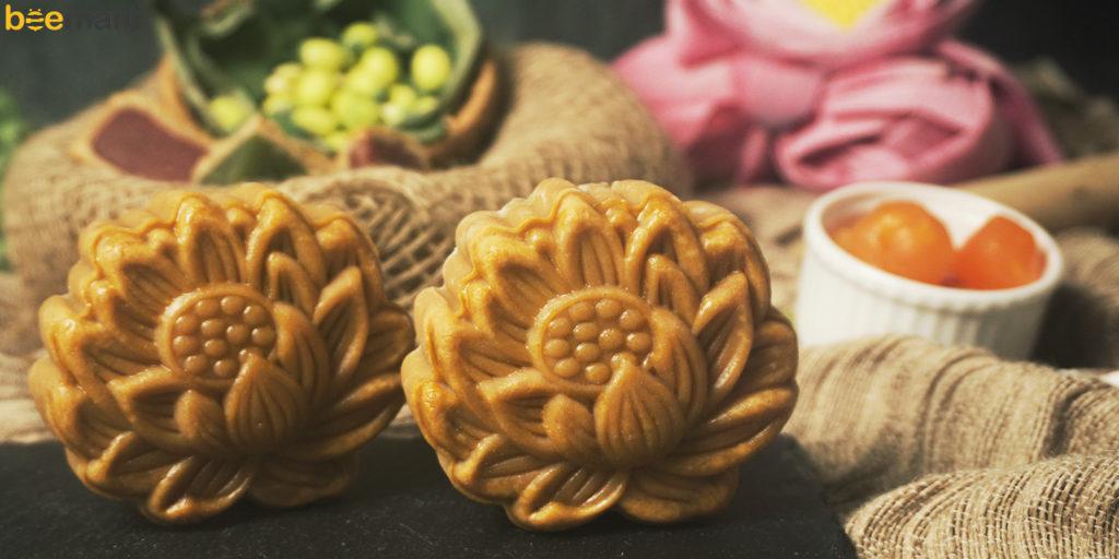 bột làm vỏ bánh trung thu nướng cách làm bánh trung thu bằng bột mikko Cách làm bánh trung thu bằng bột mikko cực dễ cho người mới lam banh trung thu bang bot mikko 1024x512