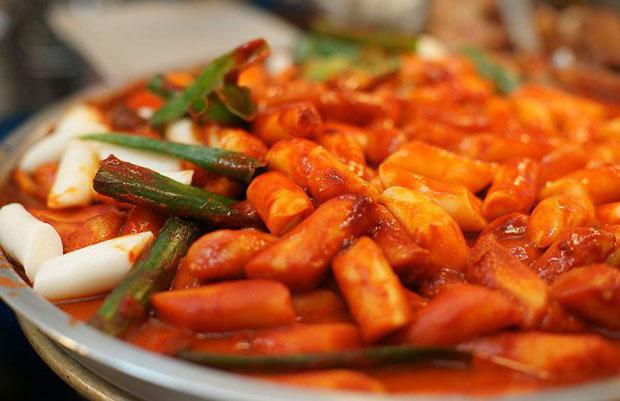 Bánh gạo Hàn Quốc