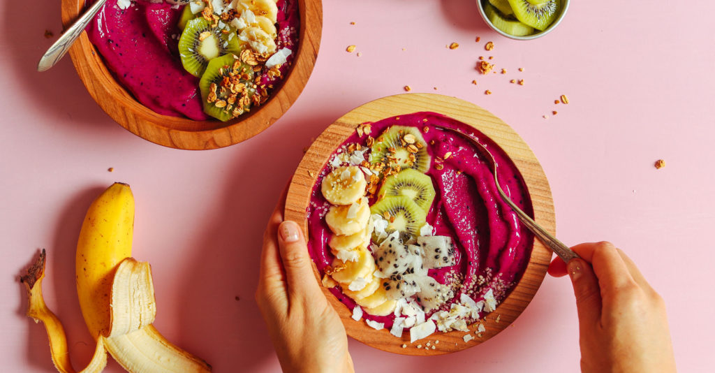 sinh tố trái cây hiện đại smoothie 7 công thức smoothie bowl nhanh gọn đủ chất siêu healthy (Phần 1) Smoothie Bowls 1024x534