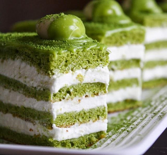 banh-bong-lan-tra-xanh bánh bông lan trà xanh Hướng dẫn cách làm bánh bông lan trà xanh ba  nh bo  ng lan tra   xanh