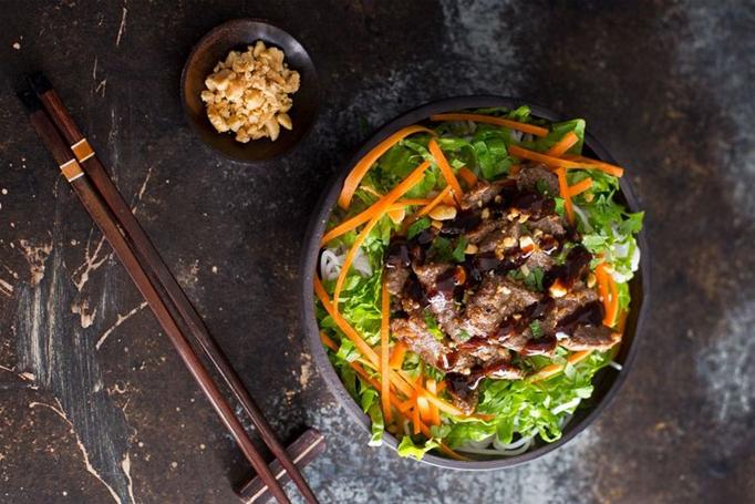 cách làm bún thịt nướng ngon cách làm thịt nướng Cách làm thịt nướng an toàn cho sức khỏe bun thit nuong