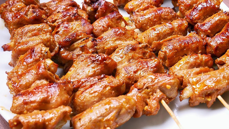 cách ướp thịt nướng ngon cách làm thịt nướng Cách làm thịt nướng an toàn cho sức khỏe cach lam thit nuong ngon