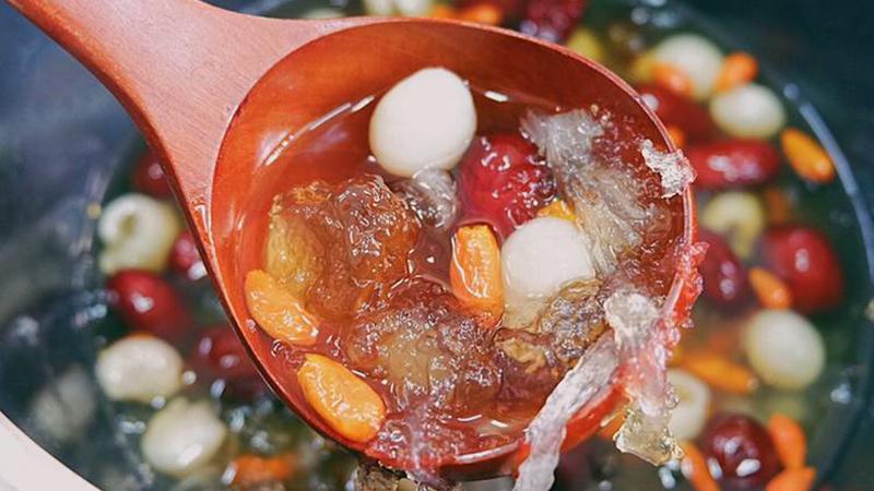 Cách nấu chè dưỡng nhan nấu chè dưỡng nhan Cách nấu chè dưỡng nhan – món ăn chưa hề giảm nhiệt che d     ng nhan