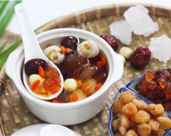 nau-che-duong-nhan nấu chè dưỡng nhan Cách nấu chè dưỡng nhan – món ăn chưa hề giảm nhiệt che dn e1557117113493