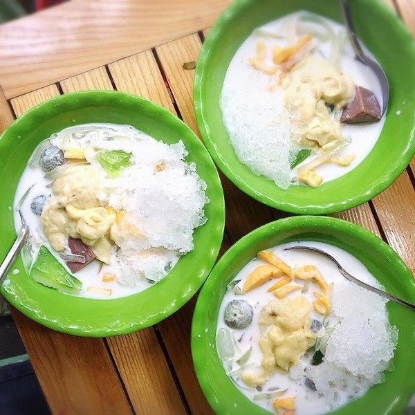 che-sau-rieng chè sầu riêng Cách làm chè sầu riêng, ăn ngon là nhớ! che thai sau rieng