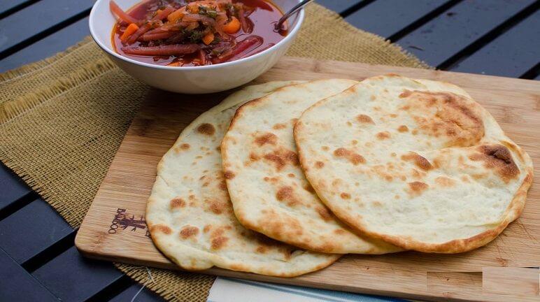 banh-bot-mi bánh bột mì Cách làm bánh bột mì hấp dẫn ngày thu lạnh naan