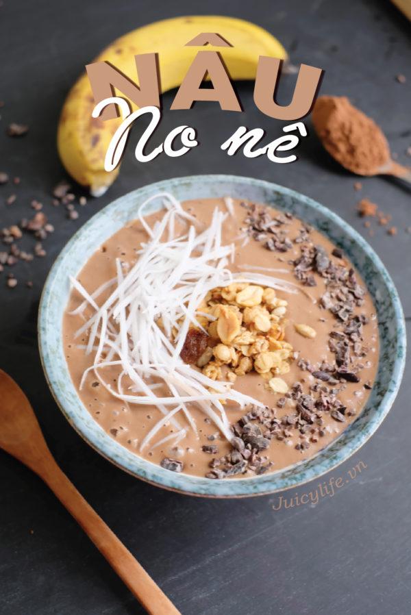 smoothie 7 công thức smoothie bowl nhanh gọn đủ chất siêu healthy (Phần 1) smoothie 05 e1564629801989