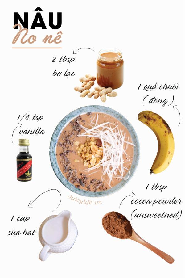smoothie 7 công thức smoothie bowl nhanh gọn đủ chất siêu healthy (Phần 1) smoothie 06 e1564629885594