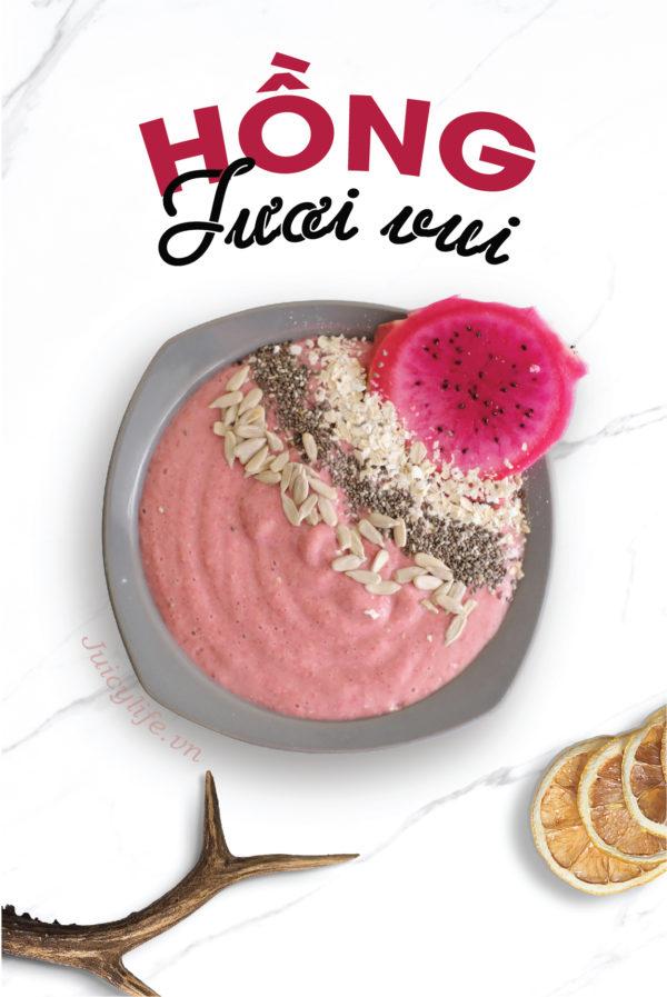 smoothie 7 công thức smoothie bowl nhanh gọn đủ chất siêu healthy (Phần 2) smoothie 08 e1564633163603