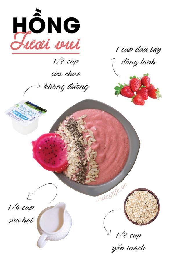 smoothie smoothie 7 công thức smoothie bowl nhanh gọn đủ chất siêu healthy (Phần 2) smoothies 09 e1564633206766