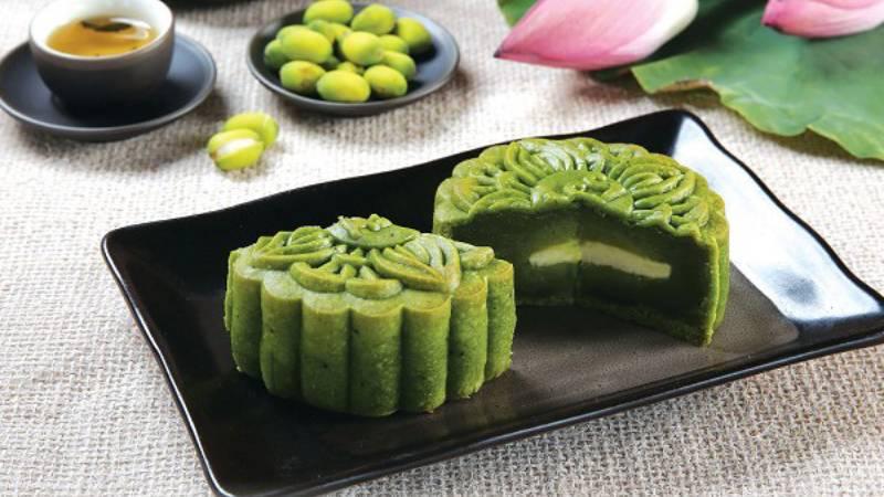 bánh trung thu trà xanh Cách làm bánh trung thu trà xanh thơm ngọt bùi 1 jyMrFjCy3Ear7XuDe9gMww