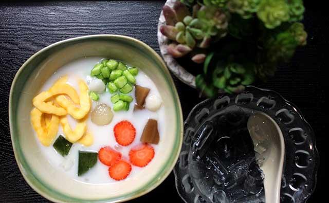 che-ngu-sac chè ngũ sắc Cách nấu chè ngũ sắc thơm ngon hấp dẫn nhìn là mê 5bc7286d0581b che1