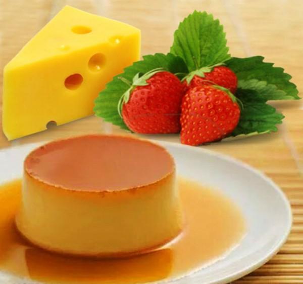 banh-flan-khong-bi-ro bánh flan không bị rỗ Vài bí kíp với cách làm bánh flan không bị rỗ cach lam banh flan 600x561 1