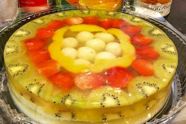 banh-sinh-nhat-rau-cau bánh sinh nhật rau câu Cách làm bánh sinh nhật rau câu đẹp mắt cach lam banh sinh nhat rau cau tu trai cay dep mat